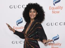 """Tracee Ellis Ross at the 2018 Equality Now's """"Make Equality Reality"""" gala in Beverly Hills, Calif."""