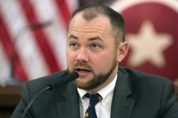 New York City Councilman Corey Johnson