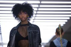 Mark Fast Spring/Summer 2020 London fashion week runway show.