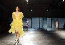 Preen by Thornton Bregazzi at the Spring/Summer 2020 fashion week runway show presented in London.