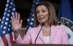 On this Sept. 12, 2019, photo, House Speaker Nancy Pelosi, D-Calif., speaks at the Capitol in Washington