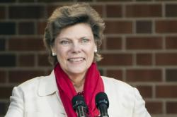 Cokie Roberts in 2017.
