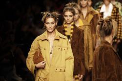 Fendi 2020 spring/summer collection at Milan Fashion Week.