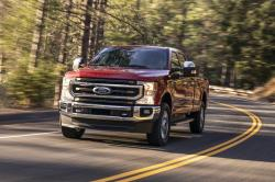 This undated photo provided by Ford shows the 2020 Ford F-250 Super Duty