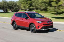 This undated photo provided by Toyota shows the 2016 Toyota RAV4