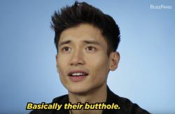 """The Good Place"" star Manny Jacinto reading thirst tweets for BuzzFeed."