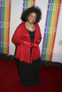 This Dec. 8, 2013 file photo shows Jessye Norman at the 2013 Kennedy Center Honors at the Kennedy Center for the Performing Arts in Washington.