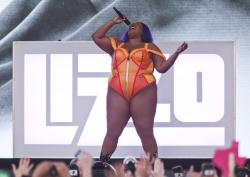 Lizzo performs during the first weekend of the Austin City Limits Music Festival.
