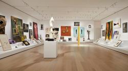 """""""Artist's Choice: Amy Sillman—The Shape of Shape,"""" part of the renovation and expansion effort at MoMA in New York."""