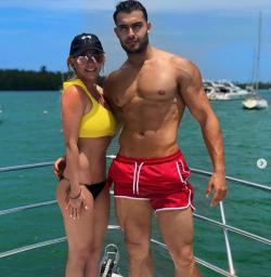 Britney Spears and boyfriend Sam Asghari