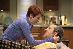 Cora Vander Broek and Ian Barford in 'Linda Vista.'