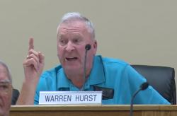 Tennessee County Commissioner Warren Hurst