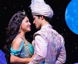 """Jonah Ho'okano and Kaenaon Alani Kekoa in """"Aladdin"""""""