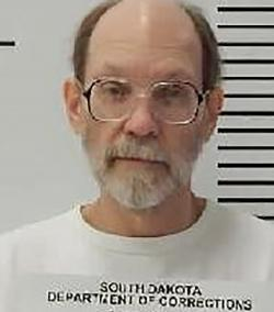 Charles Rhines at the South Dakota State Penitentiary in Sioux Falls.
