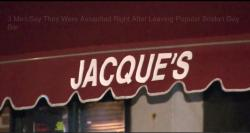 Boston's Jacque's Cabaret appears on CBSN Boston's report.