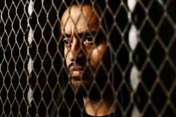 Cristhian Mancinas-Garcia plays Judas in Hub Theatre Company's production of Stephen Adly-Guirgis' 'The Last Days of Judas Iscariot'