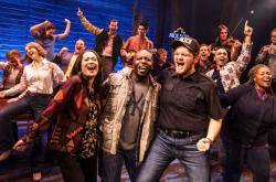 "The national company of ""Come From Away."""