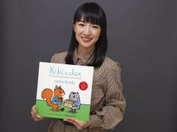 """Marie Kondo poses for a portrait to promote her children's book """"Kiki & Jax: The Life-Changing Magic of Friendship."""""""