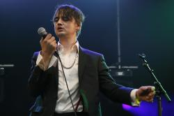 British musician Pete Doherty