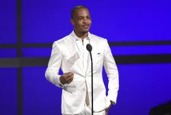T.I. at the BET Awards in Los Angeles.
