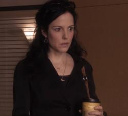 "Mary-Louise Parker in the trailer for ""Weeds."""