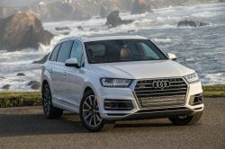 This undated photo provided by Audi shows the 2019 Audi Q7, a midsize three-row luxury SUV. The Q7 boasts impressive technology and safety features plus a quiet and user-friendly interior