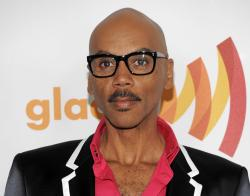 Ru Paul arrives at the GLAAD Media Awards in Los Angeles.