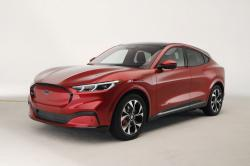 In this Wednesday, Oct. 30, 2019 photo, the new Ford Mustang Mach-E SUV is shown in Warren, Mich.