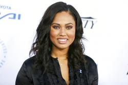 Ayesha Curry arrives at the Autism Speaks to LA Celebrity Chef Gala in Santa Monica, Calif.
