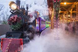 Frisco Sing-Along Steam Train at Silver Dollar City.