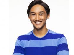 "Joshua Dela Cruz who stars in the reboot of the preschool TV show ""Blue's Clues,"" called ""Blue's Clues & You!"""