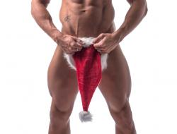 Candy Santa Reveals Private Parts