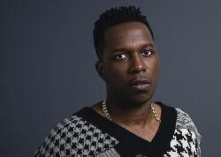 """Leslie Odom Jr. posing for a portrait in New York his first album of all-original material, the 13-track """"Mr."""""""