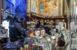 Authorities conduct a raid in Germany as part of a multi-nation crackdown on the Italian mafia