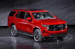 The 2021 Chevrolet Tahoe RST is unveiled in Detroit, Tuesday, Dec. 10, 2019