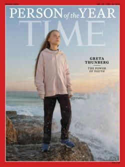 The new issue of Time Magazine with Greta Thunberg as Person of the Year