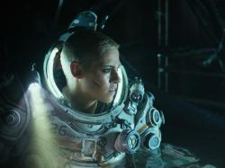 "This image released by Twentieth Century Fox shows Kristen Stewart in a scene from ""Underwater."""