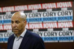 Democratic presidential candidate Sen. Cory Booker, D-N.J.