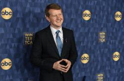 """Jeopardy!"" star Ken Jennings"