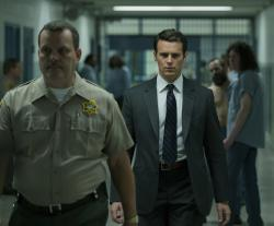 """Jonathan Groff in a scene from """"Mindhunter."""""""
