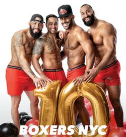 Boxers Celebrates Ten Years as America's Gay Sports Bar with New 2020 Calendar