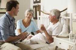 Patients Want A 'Good Death' At Home, But Hospice Care Can Badly Strain Families
