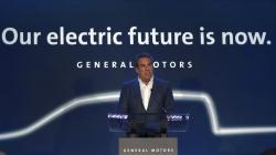 Mark Reuss, President, General Motors speaks at the GM Detroit-Hamtramck Assembly plant in Hamtramck, Mich., Monday, Jan. 27, 2020.