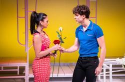 """Anna Kostakis and Nikita Burshteyn in """"Romeo & Bernadette"""""""