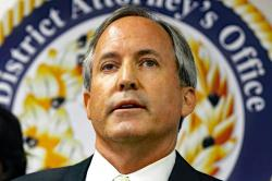 In this June 22, 2017, file photo, Texas Attorney General Ken Paxton speaks at a news conference in Dallas
