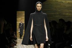 The Michael Kors collection is modeled during NY Fashion Week.