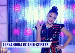 "Alexandria Ocasio-Cortez in the trailer for ""RuPaul's Drag Race"" Season 12."