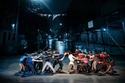 """The cast of """"West Side Story."""""""
