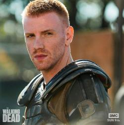 "Daniel Newman in a promotional photo for ""The Walking Dead."""
