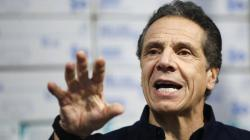 Andrew Cuomo at his briefing on Tuesday, March 24